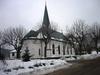 Valdemarsviks kyrka från nordöst.