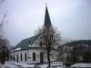 Valdemarsviks kyrka från nordväst.