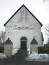 Skönberga kyrka, västgaveln.