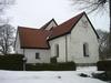 Skönberga kyrka från sydöst.