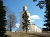 Kuddby kyrka, från sydväst.