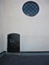 Kuddby kyrka, eventuellt benhus i tornet.