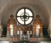 Vasakyrkan, orgelläktaren.