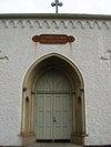 Skärkinds gamla kyrka, portalen i väster.