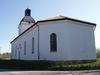 Gryts kyrka från sydväst.