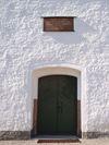 Gryts kyrka, huvudingången i norr.