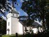 Blåviks kyrka från sydöst.