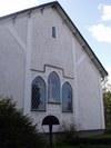 Blåviks kyrka, koret i norr.