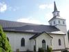 Blåviks kyrka från väster.