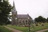Kyrkan sedd från sydväst.
