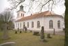 Vessige kyrka sedd från sydost.