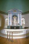 Koret i Vessige kyrka.