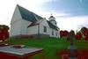 Gunnarps kyrka sedd från nordost.