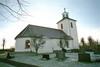 Kyrkan sedd från nordost.