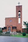 Västerledskyrkan, exteriör från väster.