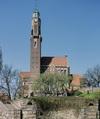 Engelbrektskyrkan, exteriören från söder.