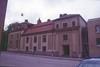 Tingsrätten, den äldre byggnadens fasad mot sidogata.