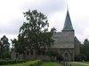 Skagershults nya kyrka, exteriör norra fasaden