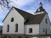 Viby kyrka, exteriör östra fasaden samt sakristia i norr