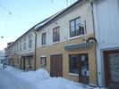 Mårten Ulfssons hus, Vadstena. Den östra byggnadsdelen, uppförd i trä vid mitten av 1700-talet.