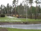 Skogskyrkogården med gravkapellet och minneslunden.