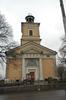 Kumla kyrka, västar fasaden