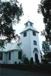 Övre Ulleruds kyrka från nv.