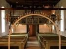 Forserums kyrka mot läktaren