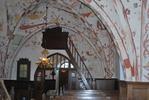 Kågeröds kyrka, mot entré i väster