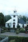 Övre Ulleruds kyrka från väster.