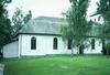 Kyrkans långhus från nordöst.