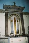 Interiör, altaruppsats.