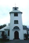 Övre Ulleruds kyrka från v.