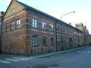 Karl XII-huset, Katedralskolan 8, Lund. Stora Södergatan, vy från söder