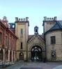 Katedralskolan 8, Lund. Portbyggnaden från väster.