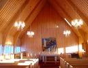 Soutujärvi kyrka, interiör