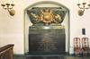 S:t Jacobs kyrka, gravmonument över Teodor Ankarcrona i nisch i korets södra vägg.