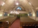 I bakre delen av kyrkan är de största förändringarna borttagandet av bänkar för inrymmande av skåp samt ändringen av läktarbarriären (1956), utbytet av orgeln (1981) samt tillkomsten av kapphyllan och bytet av skåpluckor med nuvarande färgsättning (1991)