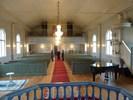 Åmsele kyrka från altaret