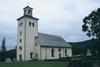 Gräsmarks kyrka från sydväst.