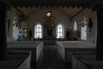 Torslunda kyrka, interiör.