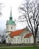 Gräsgårds kyrka, exteriör.