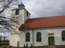 Hulterstads kyrka, exteriör.