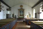 Segerstads kyrka, interiör.