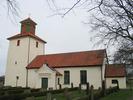 Ventlinge kyrka sedd från söder