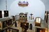 Sankta Marie kapell, interiör. Vy mot nordöst.  Neg.nr 03/100:20