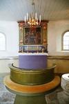 Sankta Marie kapell, koret.  Neg.nr 03/102:10