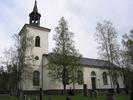 Mörsils kyrka, exteriör, södra fasaden.