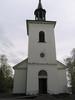 Mörsils kyrka, exteriör, västra fasaden.