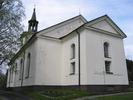 Mörsils kyrka, exteriör, östra fasaden & delar av södra långhuset.